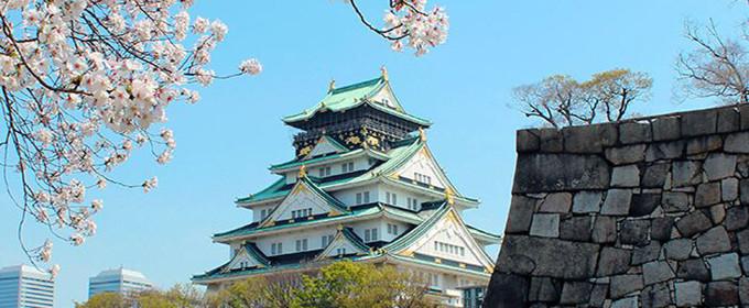 大阪城の切り取り
